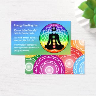 Cartes De Visite Yoga de Chakra