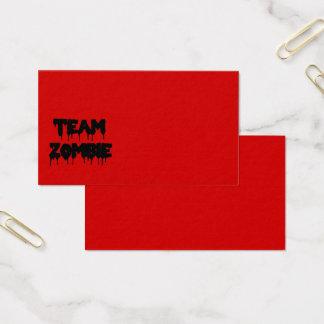 Cartes De Visite Zombi d'équipe