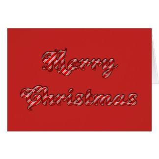 Cartes de voeux de Joyeux Noël