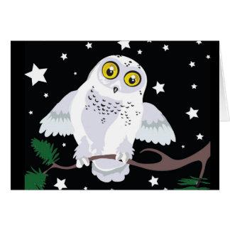 Cartes de voeux de Milou Owl~Winter