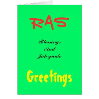Cartes de voeux de Rasta