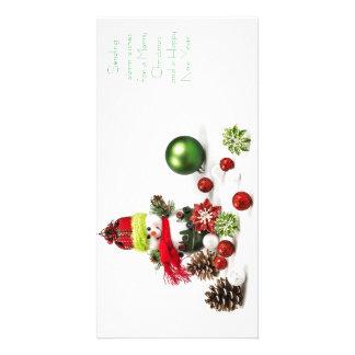 cartes de voeux de vacances de Noël 4x8 Photocartes Personnalisées