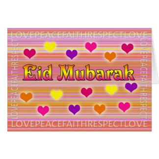 Cartes de voeux d'Eid