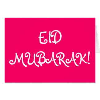 CARTES DE VOEUX D'EID MUBARAK