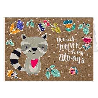 Cartes de voeux drôles de Saint-Valentin de raton