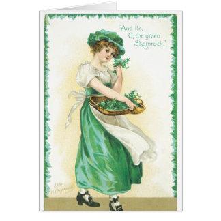 Cartes de voeux du jour de St Patrick