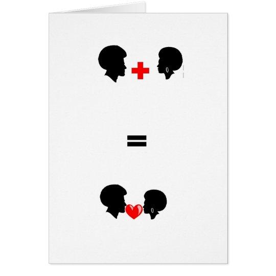 Cartes de voeux Saint-Valentin afro love