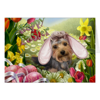 Cartes de Yorkshire Terrier Pâques