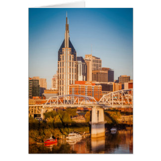 Cartes Début de la matinée au-dessus de Nashville,