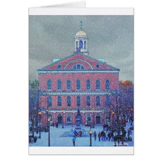 Cartes Décembre chez Faneuil Hall