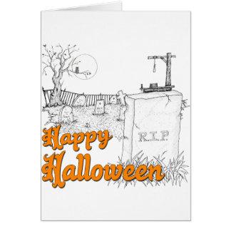 Cartes DÉCHIRURE de Halloween