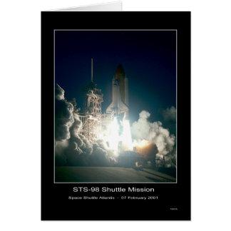 Cartes Décollage de l'Atlantide de navette spatiale - 7