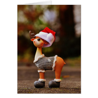 Cartes Décorations de renne - renne de Noël
