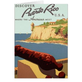 Cartes Découvrez l'affiche de Porto Rico