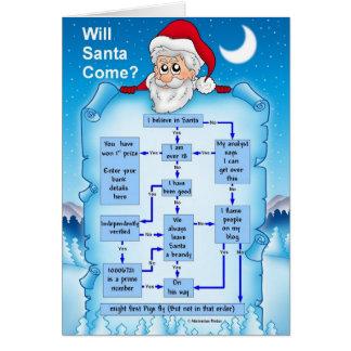 Cartes Découvrez si Père Noël visitera cette année