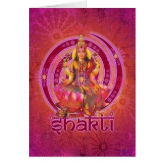 Cartes Déesse SHAKTI/LAKSHMI