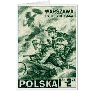 Cartes Défenseurs de 2ÈME GUERRE MONDIALE de Varsovie