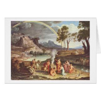 Cartes DEM Dankopfer Noahs, 1809 de MIT de Koch - de
