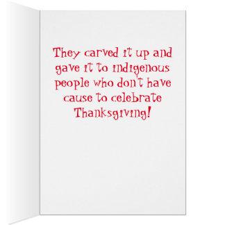 Cartes Démocrate ont pris votre dinde de thanksgiving !