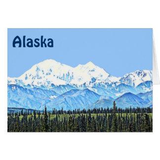 Cartes Denali (le mont McKinley)