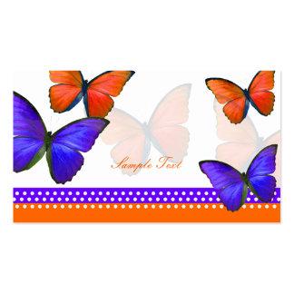 Cartes d'endroit de PixDezines Papillon/mitzvah Carte De Visite Standard