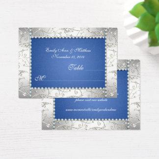 Cartes d'endroit de Tableau de remous de bleu