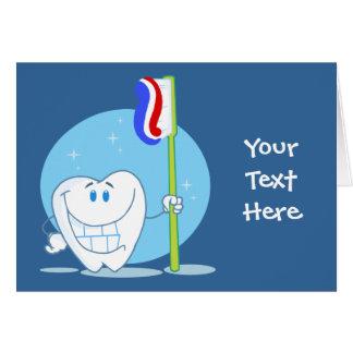 Cartes Dent souriante (personnalisable)