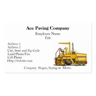 Cartes d'entreprise de construction de machine de carte de visite standard