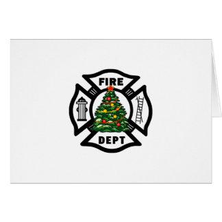Cartes Département du feu de Noël