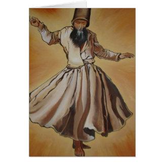 Cartes Derviche de tourbillonnement de Semasen - de Sufi