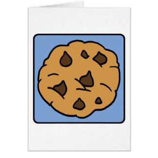 Cartes Dessert de gâteau aux pépites de chocolat de
