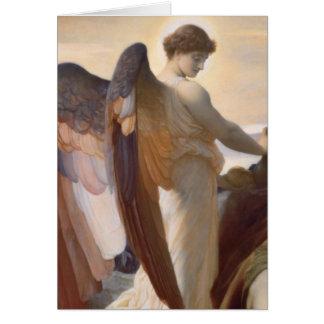 Cartes Détail d'ange, Élijah dans la région sauvage