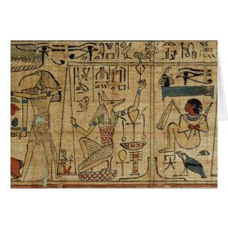 Cartes Détail du papyrus de Nespakashuty, nouveau Kingd