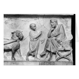Cartes Détail du sarcophage de Cornélius