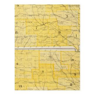 Cartes d'état de l'Iowa