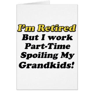 Cartes Détérioration de mes Grandkids
