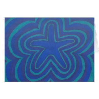 Cartes d'étoile de mer d'ombre (Sharpie coloré)
