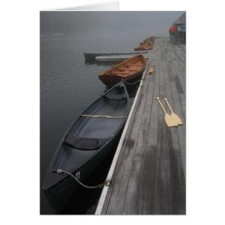 Cartes Deux canoës
