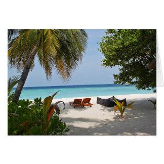 Cartes Deux chaises/venues au paradis ?