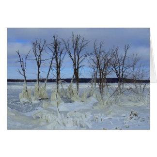 Cartes Diables lac, le Dakota du Nord
