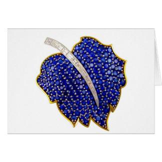 Cartes Diamants vintages de fausses pierres de bijouterie