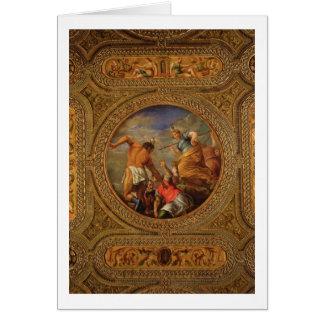 Cartes Diana et Actaeon, du plafond de la bibliothèque