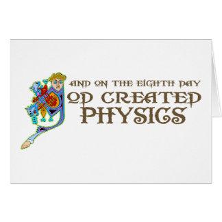 Cartes Dieu a créé la physique