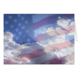 Cartes Dieu bénissent l'Amérique