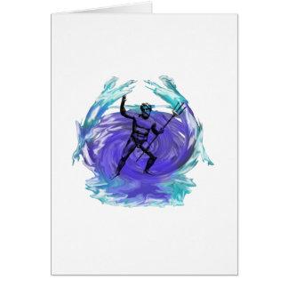 Cartes Dieu de Poseidon de la mer 1