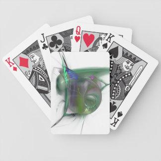 Cartes d'image de fractale jeux de cartes