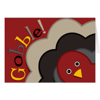 Cartes Dinde de dissimulation de thanksgiving