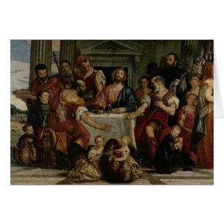 Cartes Dîner chez Emmaus (huile sur la toile)