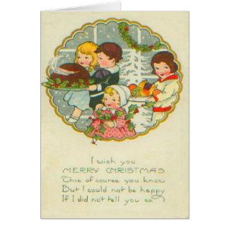 Cartes Dîner de Noël