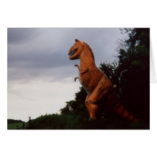 Cartes Dinosaures errant la terre